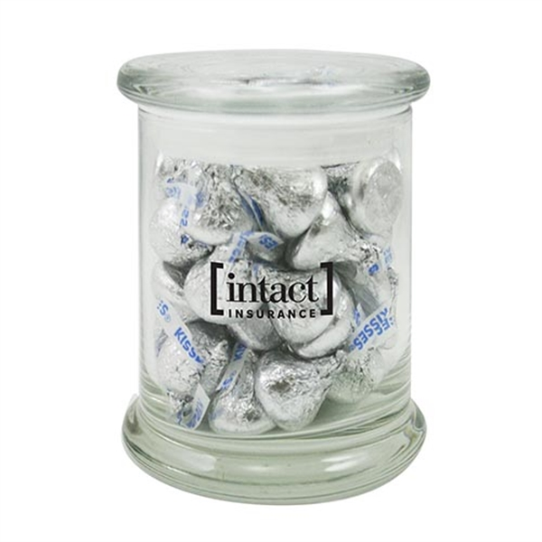 Promotional 7.6 oz. Hershey's Kisses in Glass Status Jar