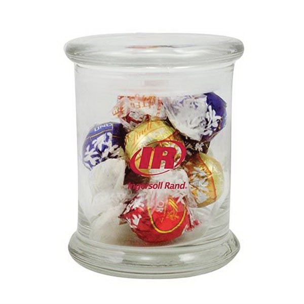 Promotional 10 Lindt Truffles in Glass Status Jar