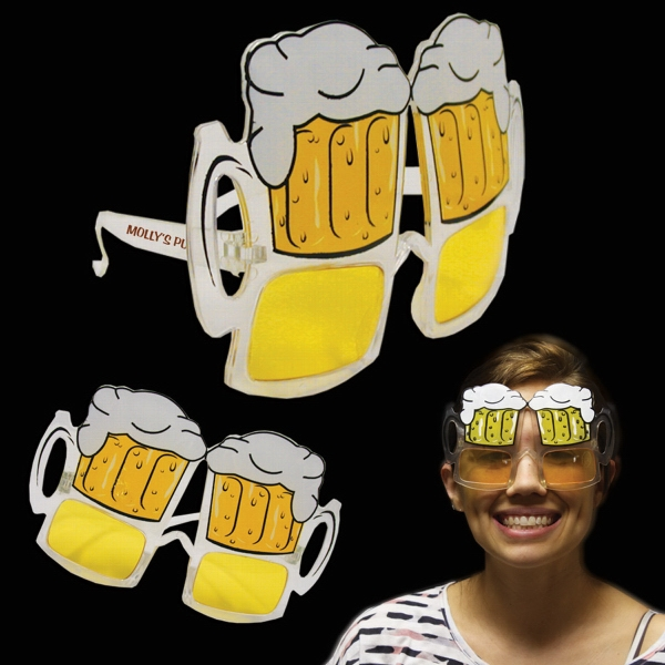 Customized Beer Mug Sunglasses