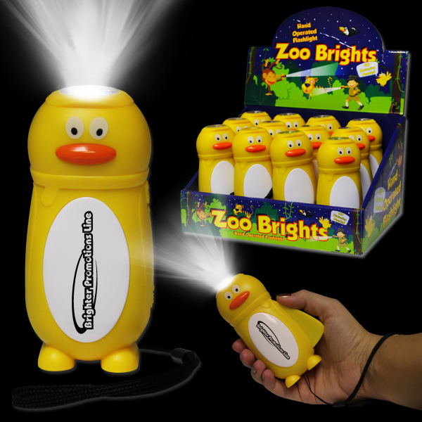 Custom Duck Zoo Brights Flashlight