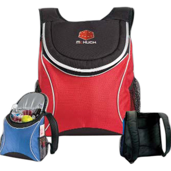 Imprinted Ice River Backpack Cooler