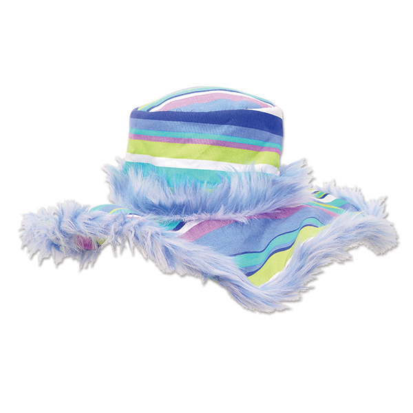 Imprinted Pastel Stripe Show Daddy Hat