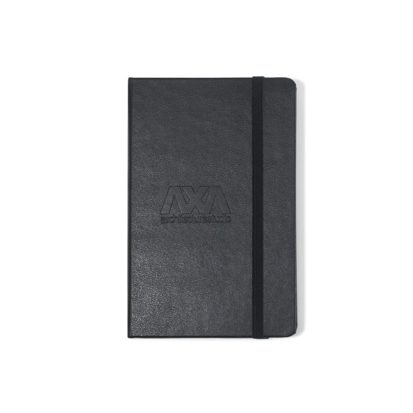 Printed Moleskine Hard Cover Squared Pocket Notebook