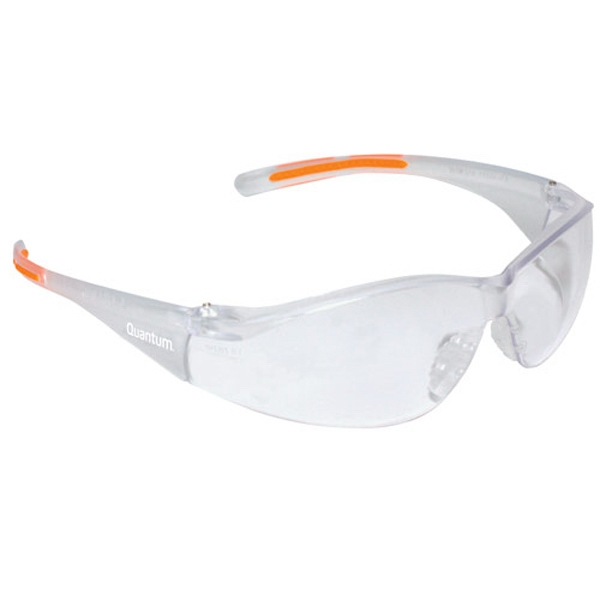 Promotional Lightweight Wrap-Around Safety Glasses with Nose Piece