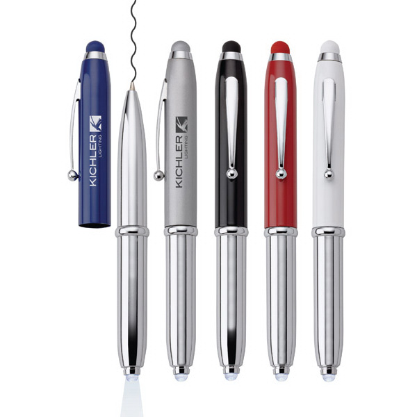 Customized Fiona 3-in-1 Mini Pen/Light/Stylus