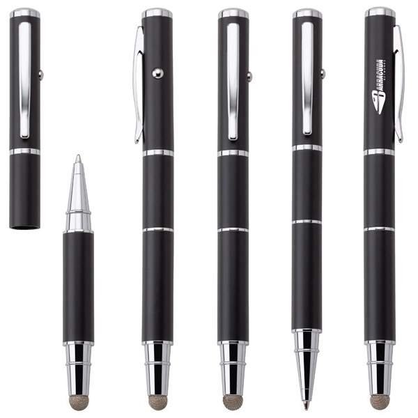 Promotional Cima 3-in-1 Ballpoint Pen/Stylus/Pointer