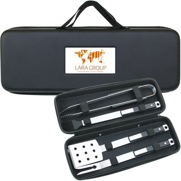 Promotional BBQ35 4 Pc Deluxe BBQ Set