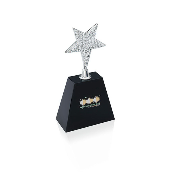 Custom Small Rhinestone Star Award