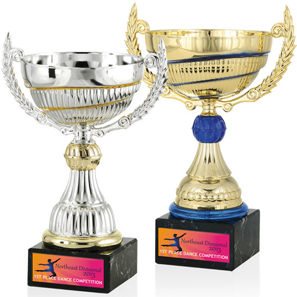 "Promotional 11"" Swirl Trophy"