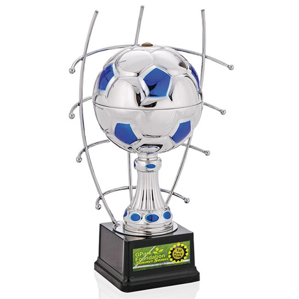 "Imprinted 12"" Goal Master Trophy"
