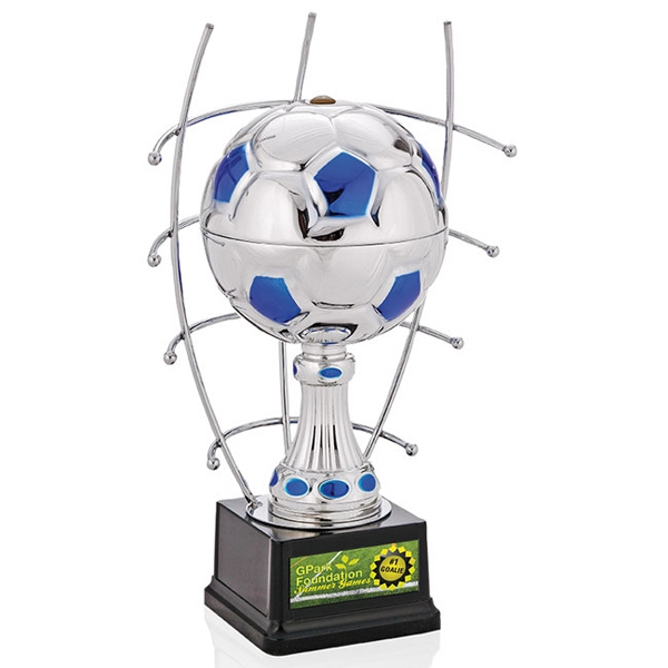 "Customized 13"" Goal Master Trophy"