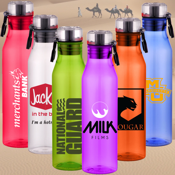 Imprinted BOTTLE SAHARA 25 oz.