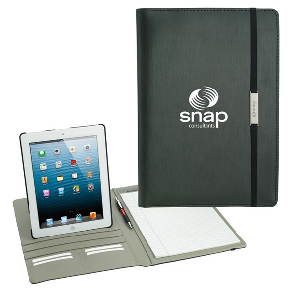Custom Rotating Case Tech Padfolio for Tablet