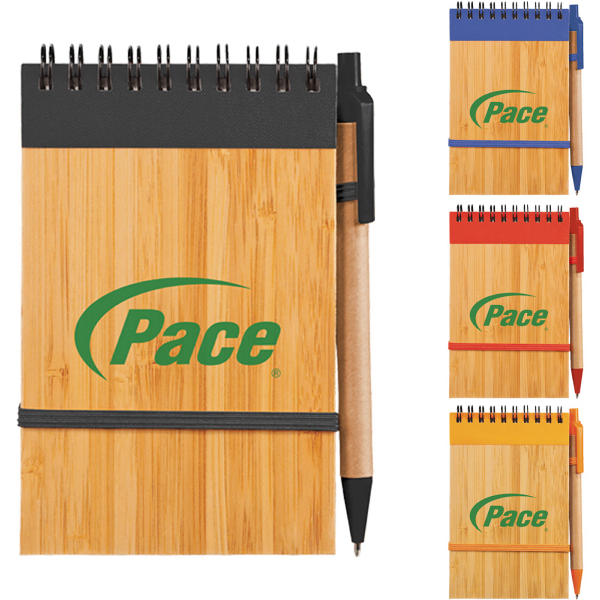 Customized Bamboo Jotter