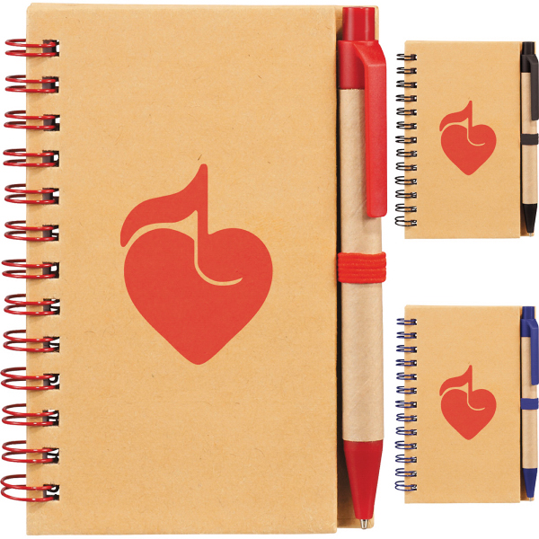 Custom Write and Go Mini Notebook & Pen