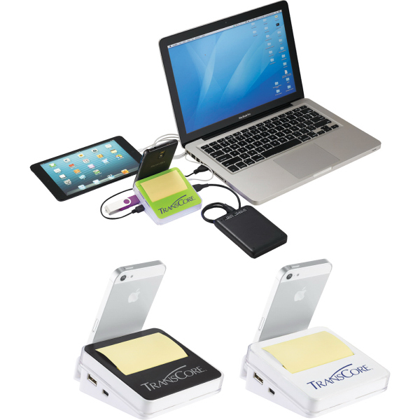 Personalized Stickz USB Hub & Phone Holder