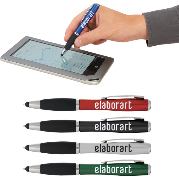 Personalized Nash Pen-Stylus & Light