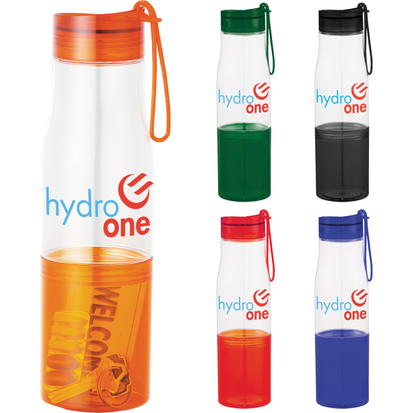 Promotional Hide-Away 16 oz. Tritan (TM) Sports Bottle