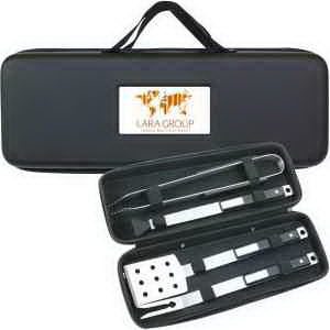 Custom BBQ35 4 Pc Deluxe BBQ Set
