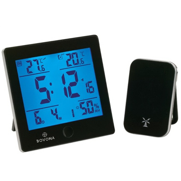 Imprinted Helius Weather Station w/ RC Clock