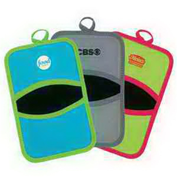 Personalized Neoprene Dual Pot Holder