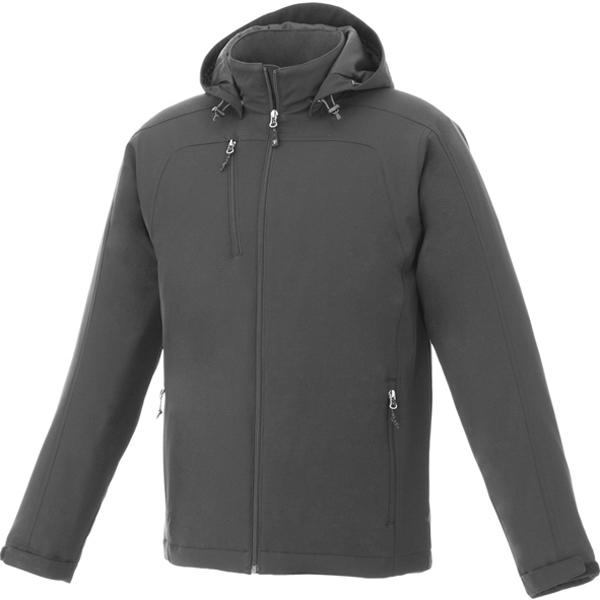 Printed Men's bryce insulated softshell jacket