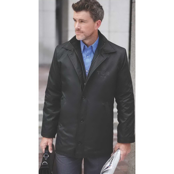 Printed Men's colby insulated softshell jacket