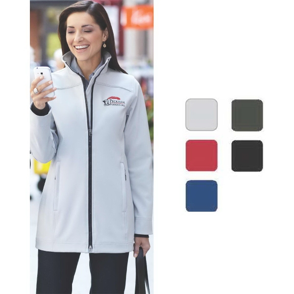 Personalized Women's vernon softshell jacket