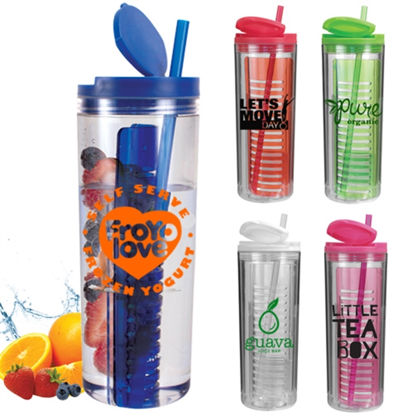 Customized 20 Oz Infuser Tumbler