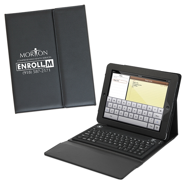 Personalized Traditional iPad Case With Keyboard