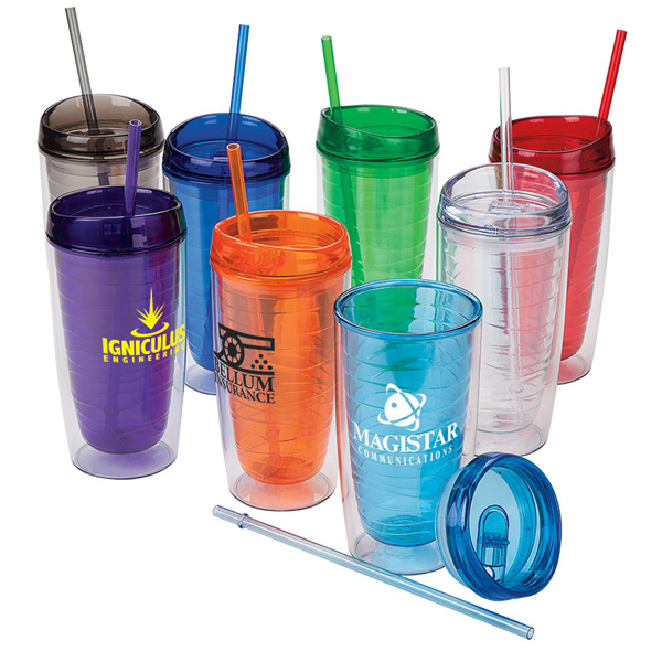 Promotional Double-Wall 16oz. Tumbler