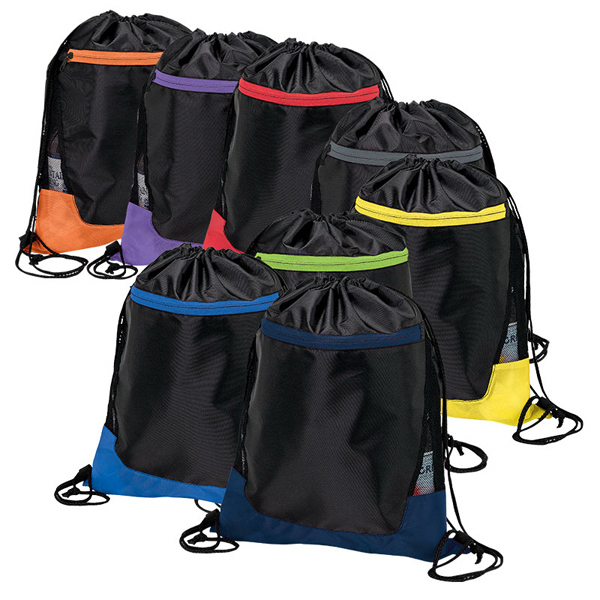 Imprinted Drawstring Sport Bag