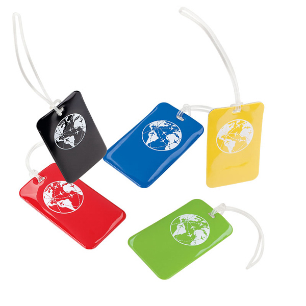 Imprinted Go Explore Luggage Tag