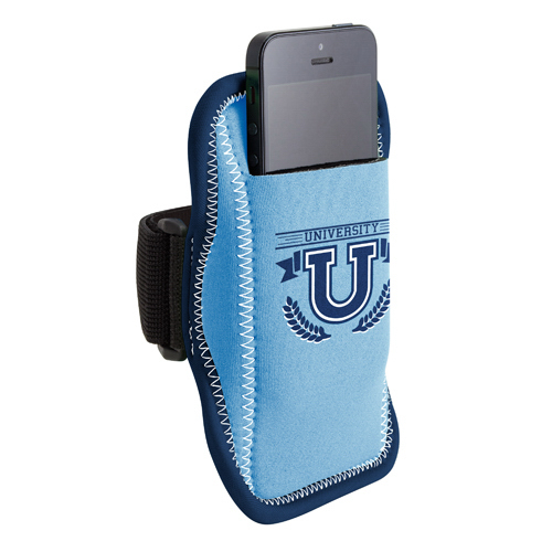 Imprinted JogStrap Neoprene Smartphone/iPod Holder