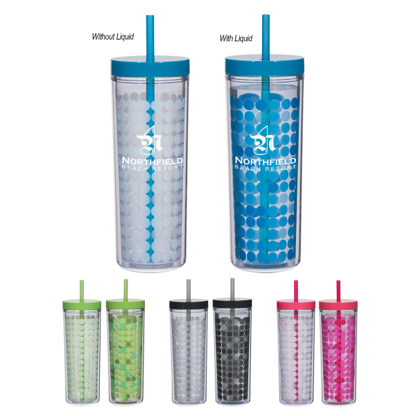 Personalized 16 oz Color Changing Tumbler