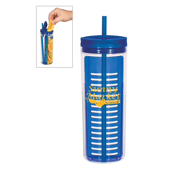Imprinted 20 oz. Tumbler with Infusion Separator