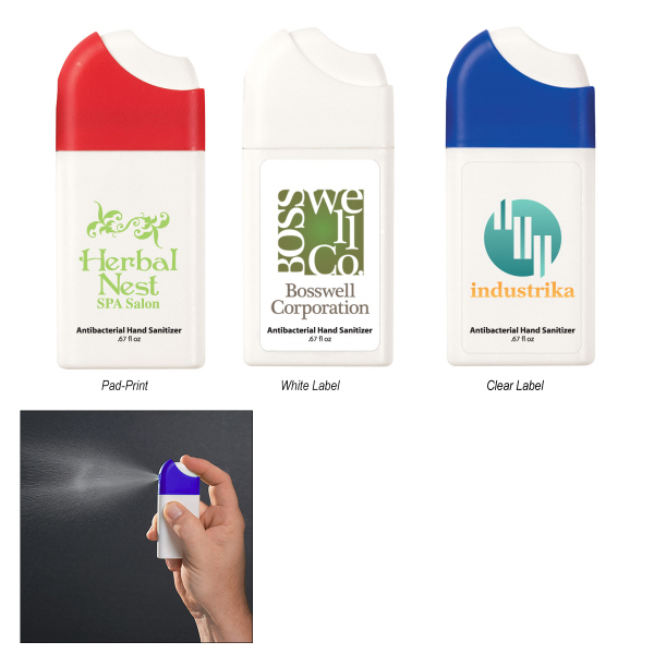 Imprinted Misting Hand Sanitizer Spray