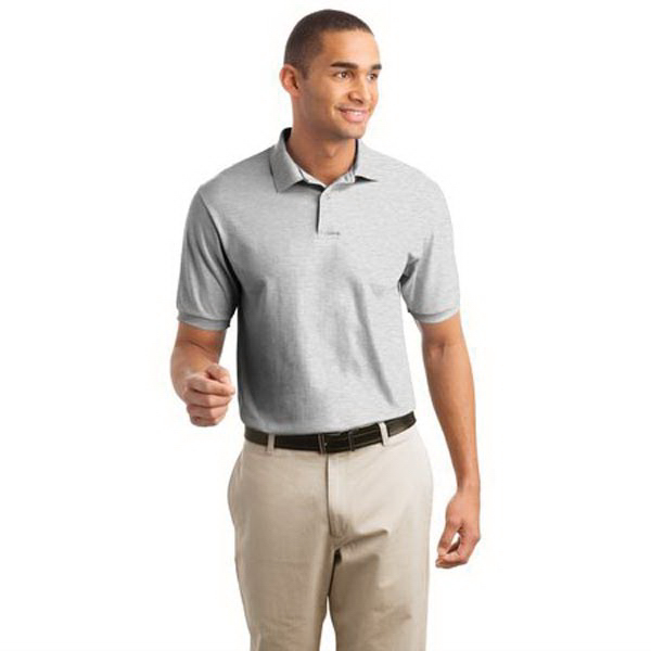 Customized Hanes® Stedman® 5.2-ounce jersey knit sport shirt