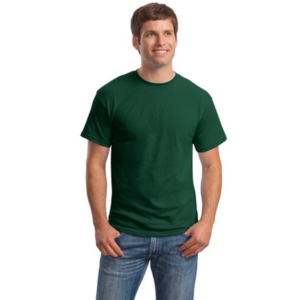 Custom Hanes® Comfortsoft® 50/50 cotton/poly t-shirt