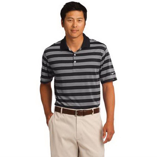 Custom Nike Golf (R) Dri-FIT Chest Stripe Print Polo