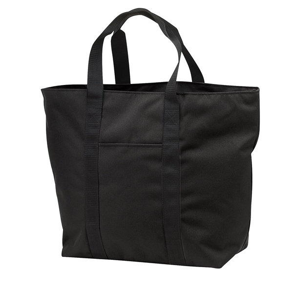 Imprinted Port Authority® all purpose tote