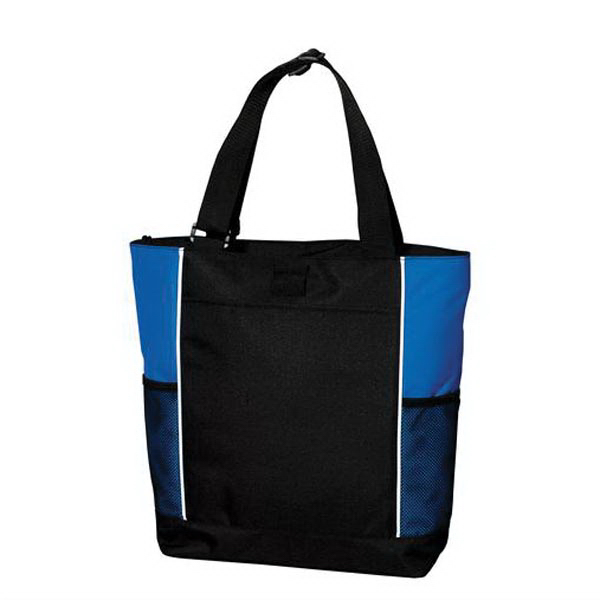 Imprinted Port Authority® panel tote