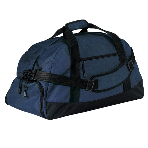 Printed Port & Company® basic large duffel