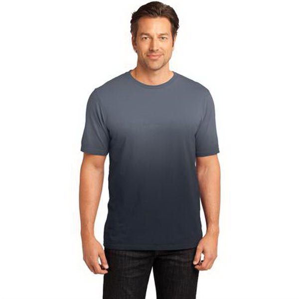 Imprinted District Made® Men's Dip Dye Crew Tee