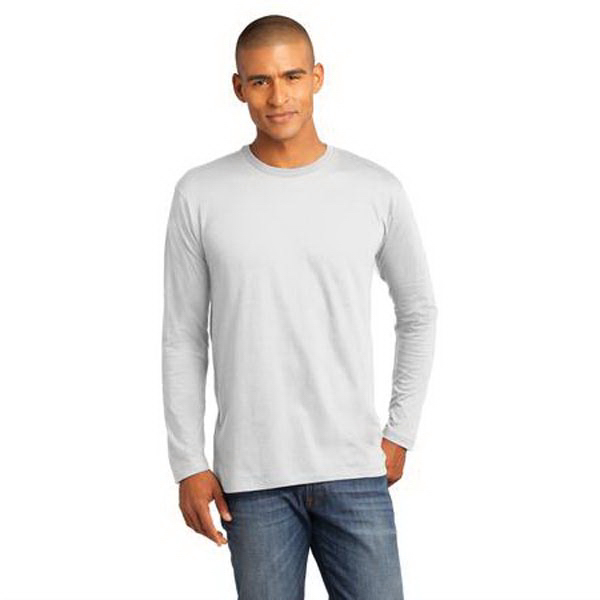Promotional District Made (TM) Men's Perfect Weight Long Sleeve Tee
