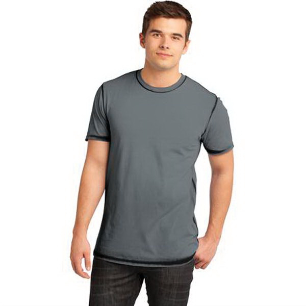 Printed District (R) Young Men's Faded Crew Tee