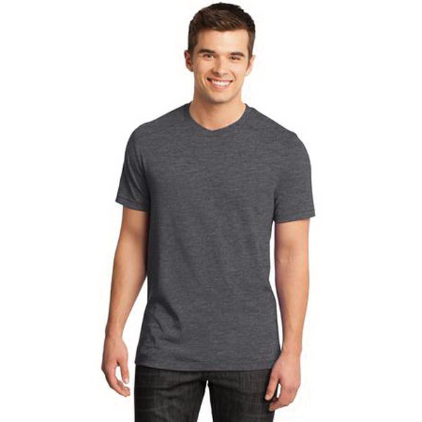 Printed District® Young Men's Gravel 50/50 Notch Crew Tee