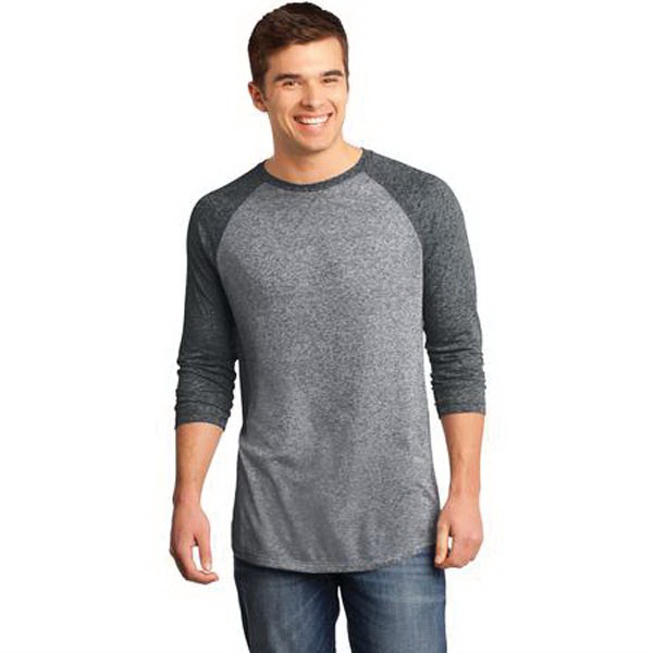 Printed District (R) Young Men's Microburn (TM) 3/4 Sleeve Tee