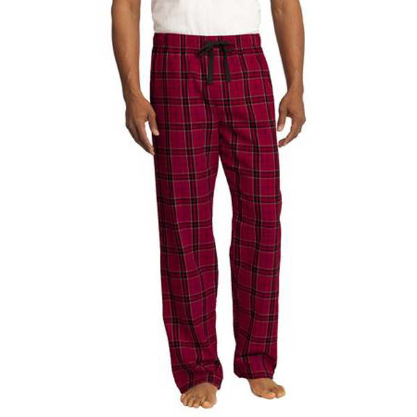 Customized District® Young Men's Flannel Plaid Pant