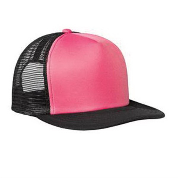 Customized District (R) Flat Bill Snapback Trucker Cap